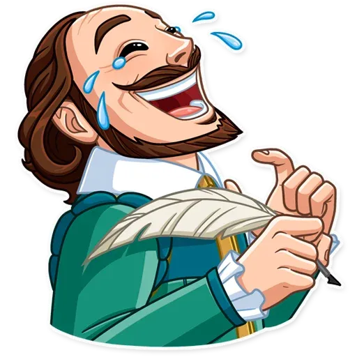 Shakespeare - Sticker 1