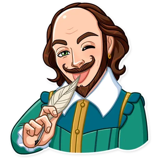 Shakespeare - Sticker 10