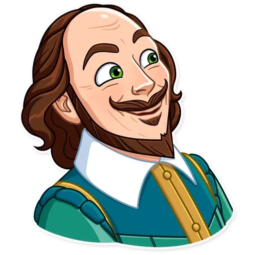 Shakespeare - Sticker 14