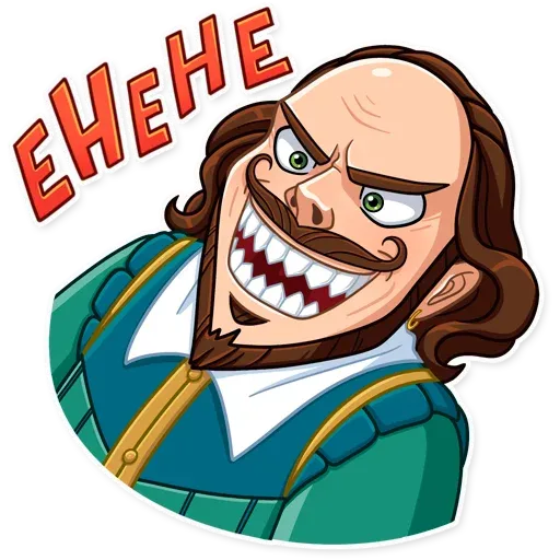 Shakespeare - Sticker 18