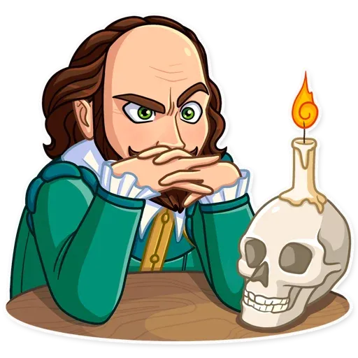 Shakespeare - Sticker 9