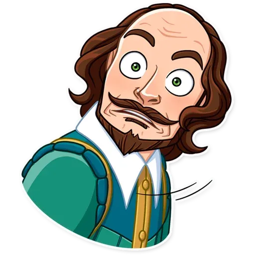 Shakespeare - Sticker 12