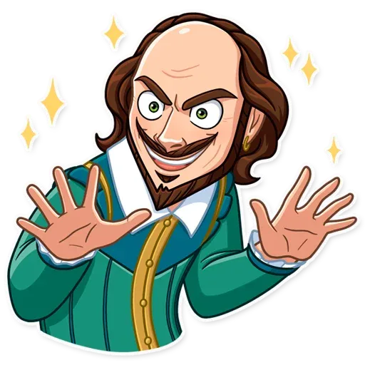 Shakespeare - Sticker 23