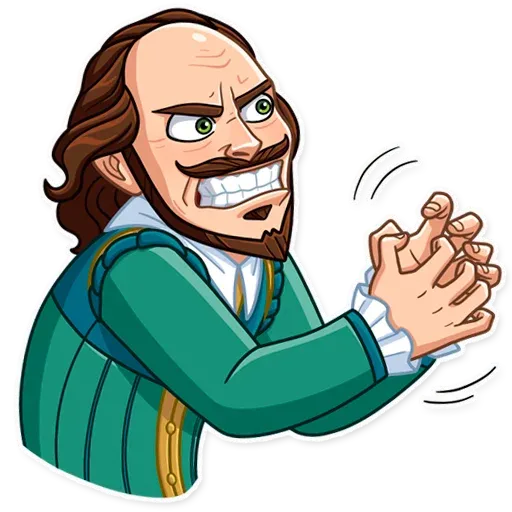 Shakespeare - Sticker 20