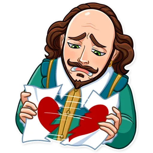 Shakespeare - Sticker 7