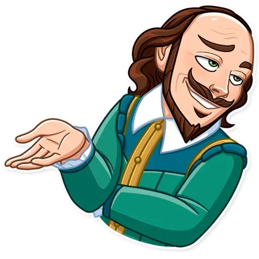 Shakespeare - Sticker 13