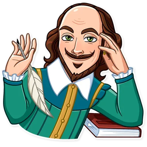 Shakespeare - Sticker 5