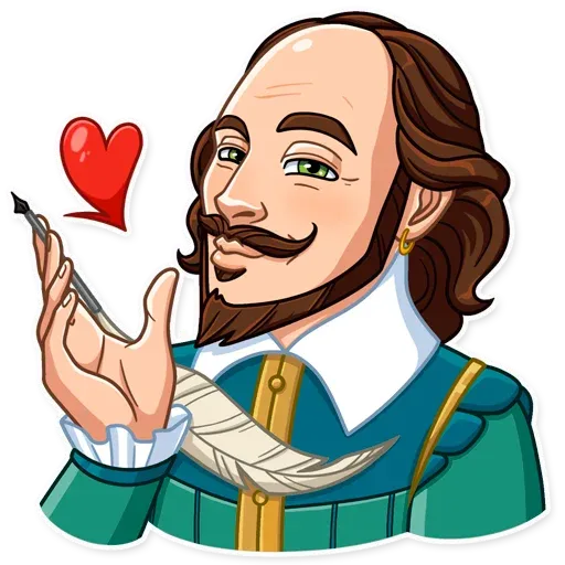 Shakespeare - Sticker 2