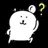 Joke bear - Tray Sticker