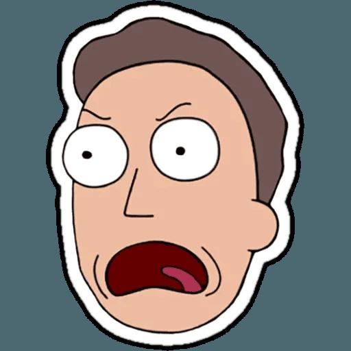 Rick & Morty 1 - Sticker 17