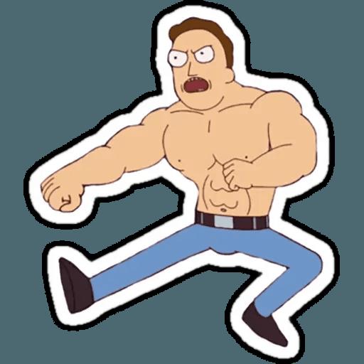 Rick & Morty 1 - Sticker 22