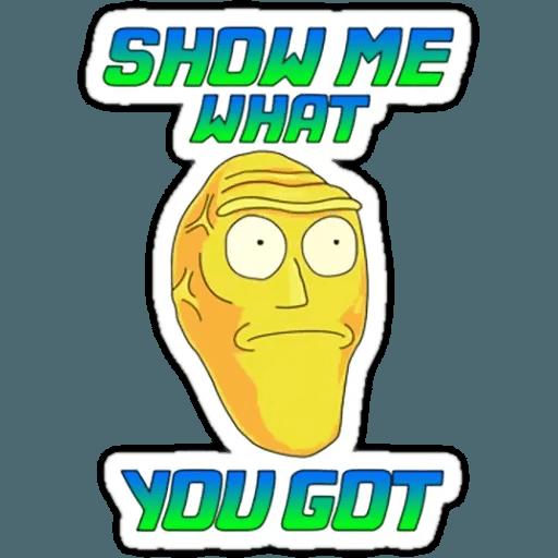 Rick & Morty 1 - Sticker 15