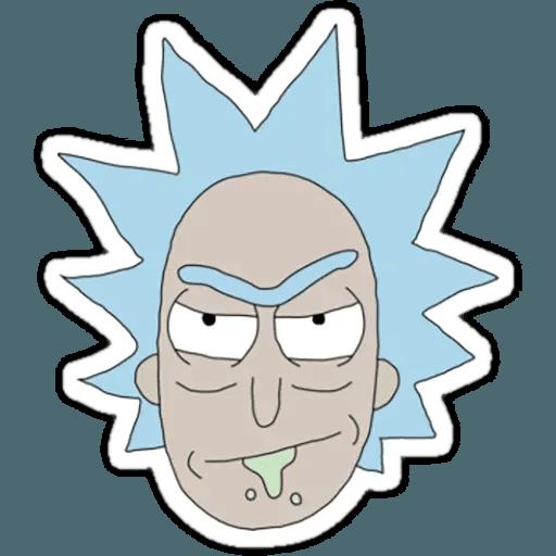 Rick & Morty 1 - Sticker 26