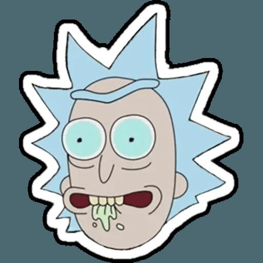 Rick & Morty 1 - Sticker 20