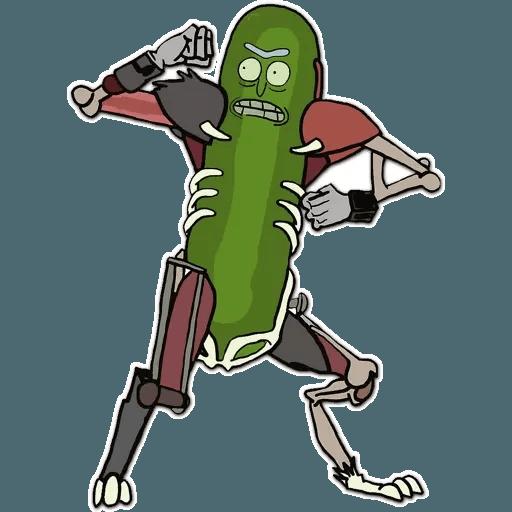 Rick & Morty 1 - Sticker 3