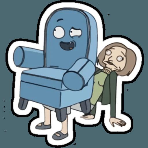 Rick & Morty 1 - Sticker 10