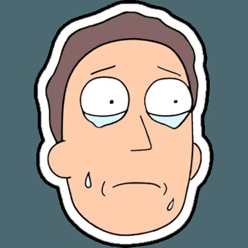 Rick & Morty 1 - Sticker 16