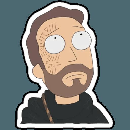 Rick & Morty 1 - Sticker 19
