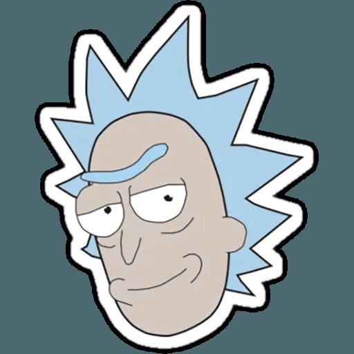 Rick & Morty 1 - Sticker 25