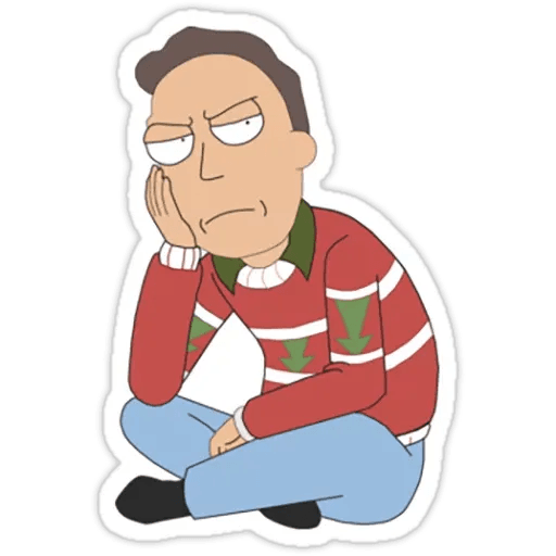 Rick & Morty 1 - Sticker 21