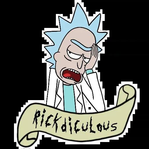 Rickanmori - Sticker 8