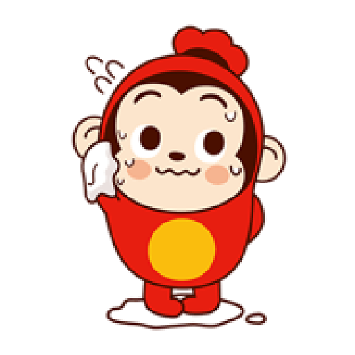 Sausage Monkey! Lovely Cocomong 2 - Sticker 22