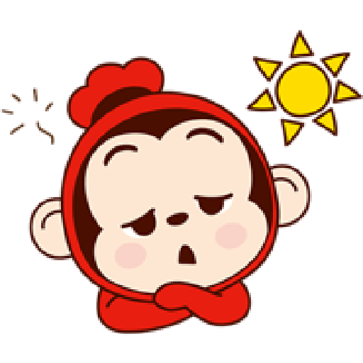 Sausage Monkey! Lovely Cocomong 2 - Sticker 24