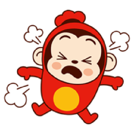 Sausage Monkey! Lovely Cocomong 2 - Sticker 9