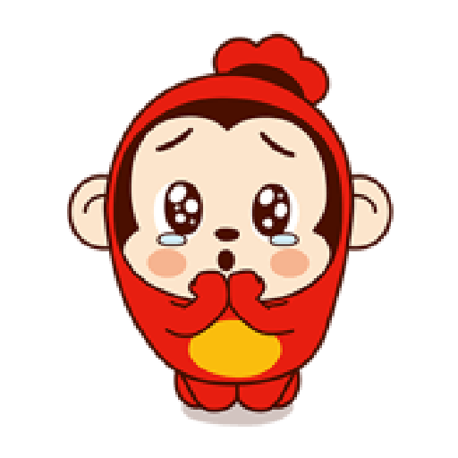 Sausage Monkey! Lovely Cocomong 2 - Sticker 2