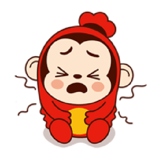 Sausage Monkey! Lovely Cocomong 2 - Sticker 17