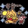 Pooh仔 - Tray Sticker