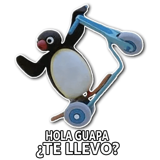 Pingu en Español - Sticker 2