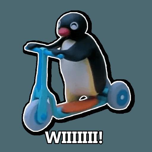 Pingu en Español - Sticker 3
