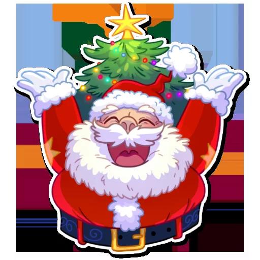 Santa - Sticker 5