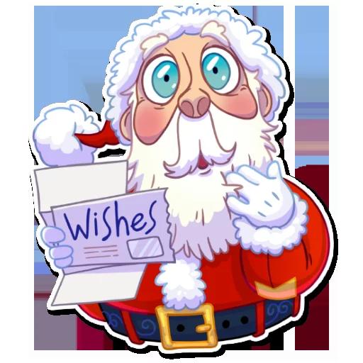 Santa - Sticker 4