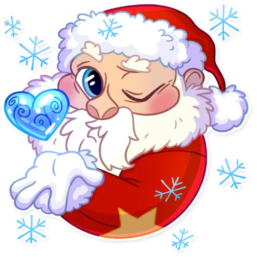 Santa - Sticker 2
