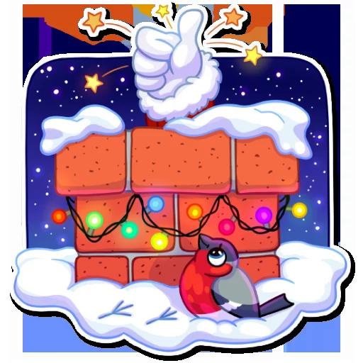 Santa - Sticker 3