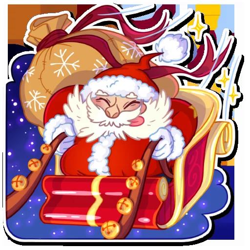 Santa - Sticker 24