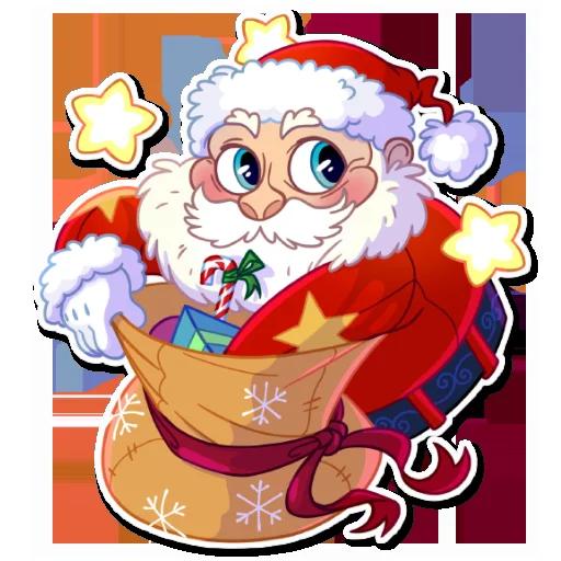 Santa - Sticker 6