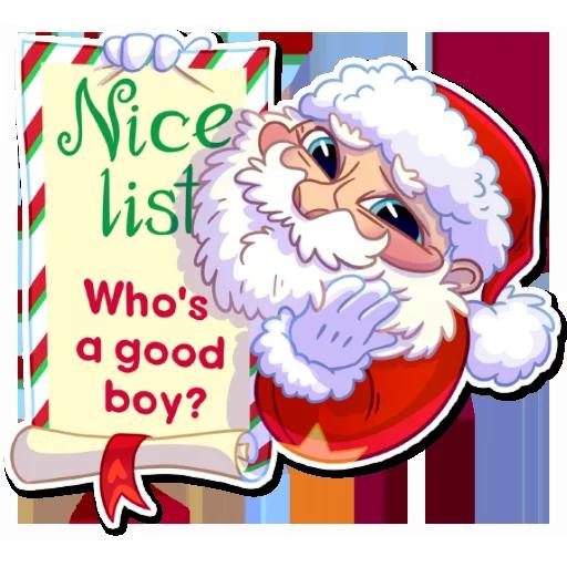 Santa - Sticker 12