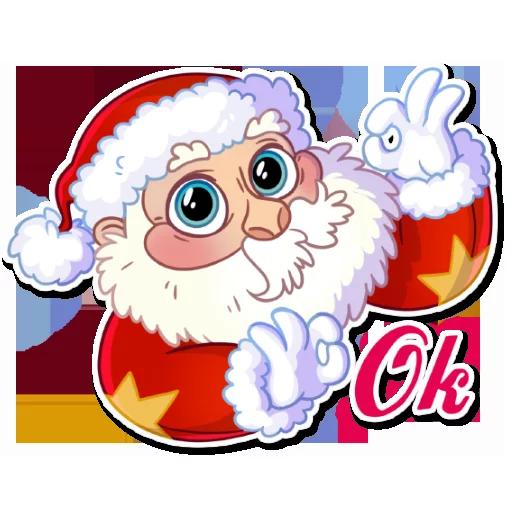 Santa - Sticker 22