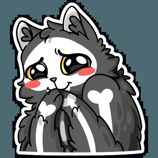 skeleton cat - Sticker 29