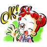 ♡Ojamajo Doremi 01♡ - Tray Sticker