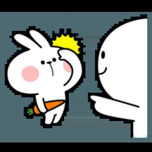Spoiled rabbit 互相攻擊版 - Sticker 11