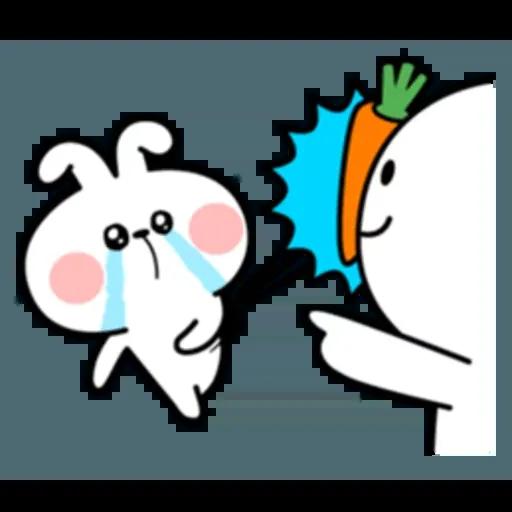 Spoiled rabbit 互相攻擊版 - Sticker 12