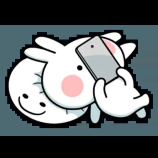Spoiled rabbit 互相攻擊版 - Sticker 24