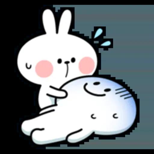 Spoiled rabbit 互相攻擊版 - Sticker 23