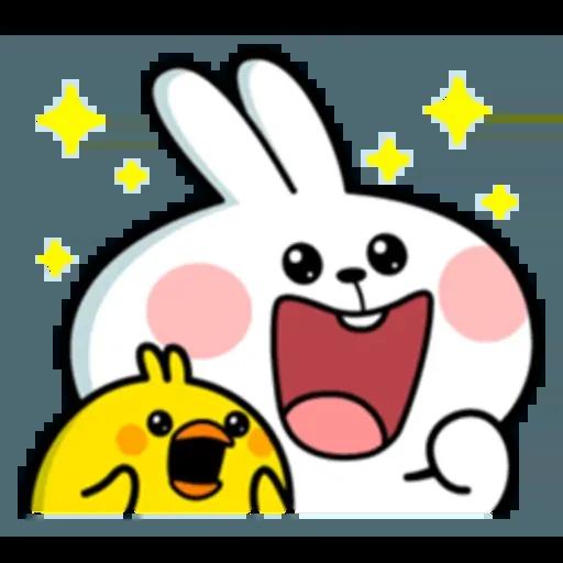 Spoiled rabbit 互相攻擊版 - Sticker 13
