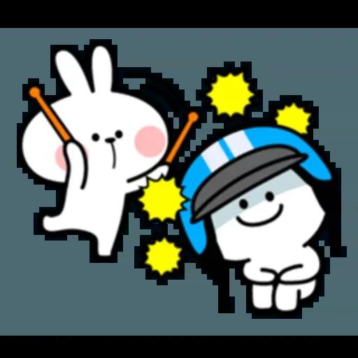 Spoiled rabbit 互相攻擊版 - Sticker 28