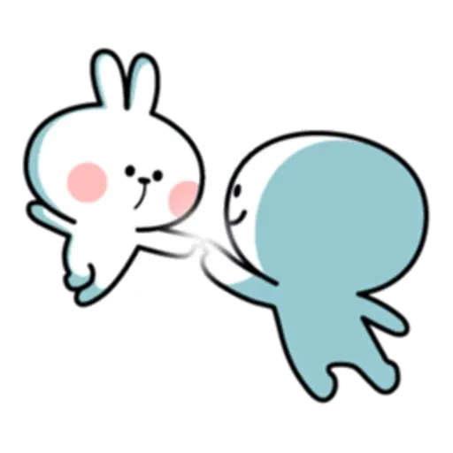 Spoiled rabbit 互相攻擊版 - Sticker 7